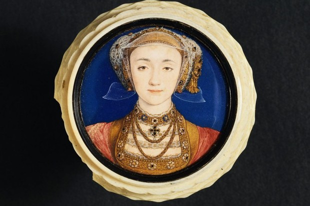 Portrait of Anne of Cleves by Hans Holbein the Younger (Photo by © Historical Picture Archive/CORBIS/Corbis via Getty Images)