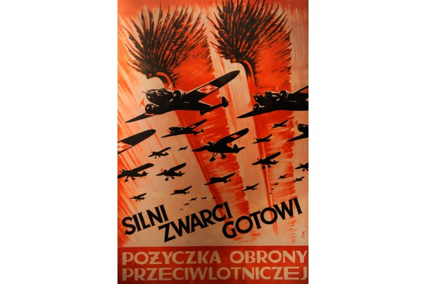 """A Second World War propaganda poster from Poland. """"For Polish people, their history with Britain is essentially the history of the Second World War, and of promises not kept. It's a story of abandonment,"""" MacGregor argues. (Photo by: PHAS/Universal Images Group via Getty Images)"""