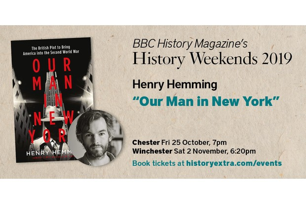 Henry Hemming History Weekend Talks 2019