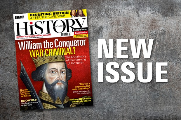 November issue of BBC History Magazine