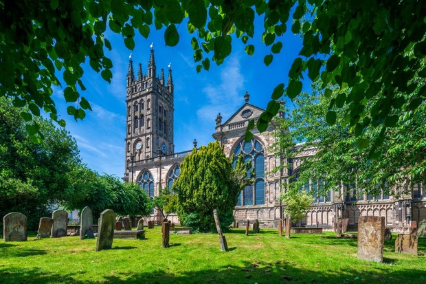 St Mary's Church is revered as one of England's greatest architectural achievements. (Image by Alamy)