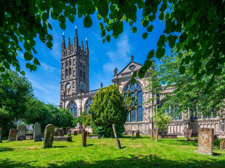 A masterpiece of Gothic grandeur: the Church of St Mary, Warwick