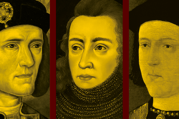 Richard III, Edward IV and George, Duke of Clarence