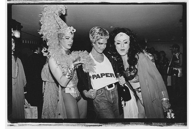 Three drag queens pose for a photo at a ball in New York City, c1991. (Photo by Catherine McGann/Getty Images)