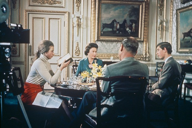The 1969 documentary was made amid a feeling that there was an increasing awareness of a need to 'sell' the monarchy to the people, writes historian Sarah Gristwood. (Photo by Hulton Archive/Getty Images)