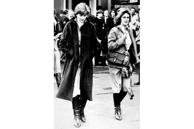 Lady Diana Spencer and Camilla Parker Bowles, 1980