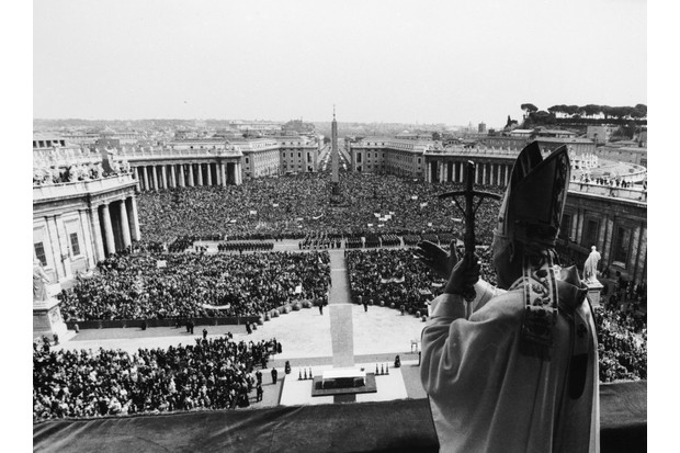 Pope John Paul II papal blessing