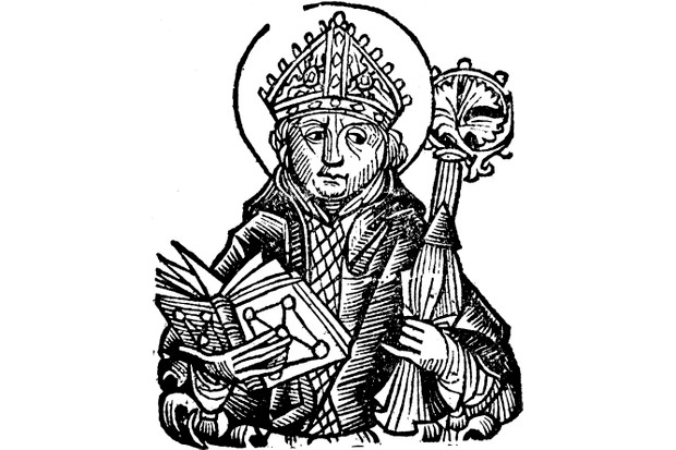 An illustration of Thomas Becket, from 'Liber Chronicarum Mundi (Nuremberg Chronicle)' by Hartmann Schedel, 1493. (Photo by Ann Ronan Pictures/Print Collector/Getty Images)
