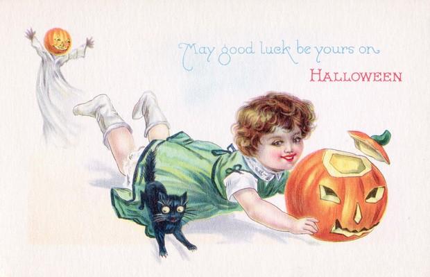 Halloween card c1910