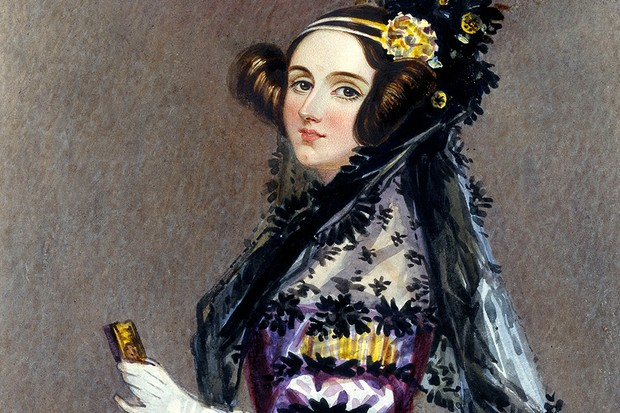 A contemporary portrait of scientist Ada Lovelace