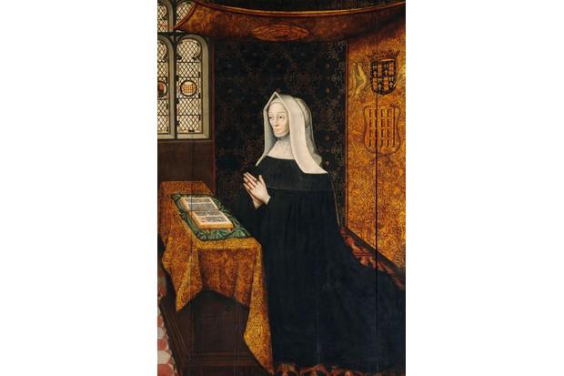 Margaret Beaufort, seen here in a 16th-century portrait