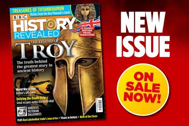 December 2019 issue of BBC History Revealed magazine