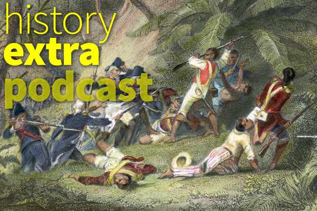 The Haiti slave revolt. (Image by Getty)