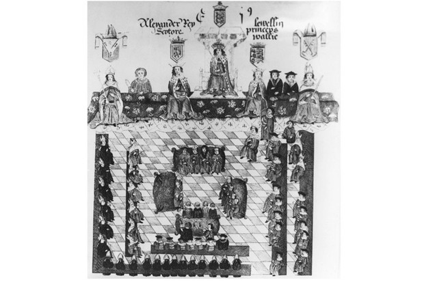 A depiction of a 13th-century parliament, sitting under Edward I. The Good Parliament of 1376, during the reign of Edward III, sowed the seeds for discontent that was to come.