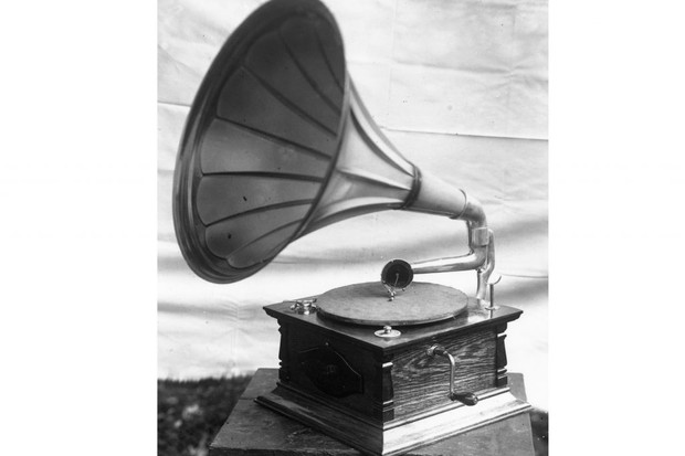 Photo of a gramophone