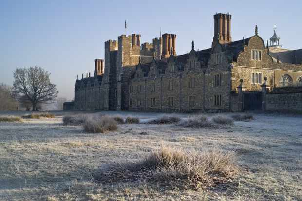 Knole, a house on an epic scale that's now run by the National Trust.