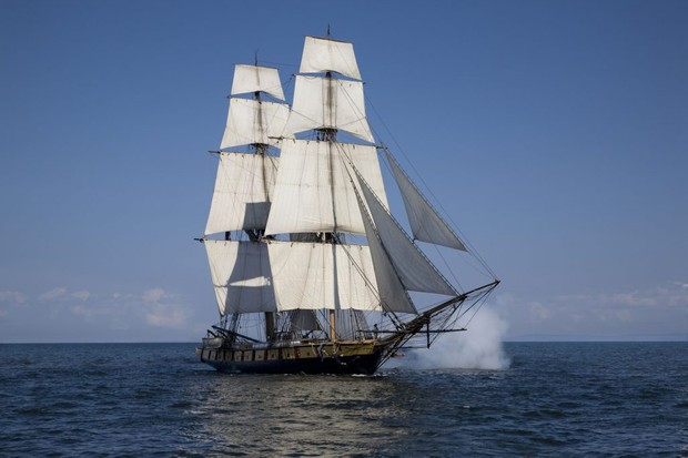 Photo of tall ship