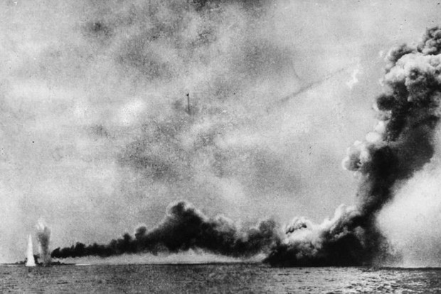 Photo of the Battle of Jutland