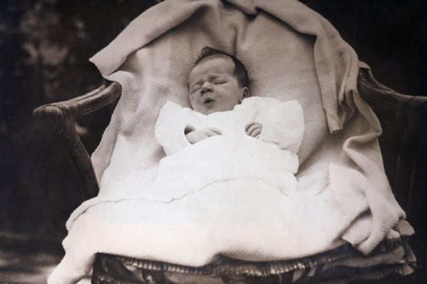Photo Of baby Charles Lindbergh