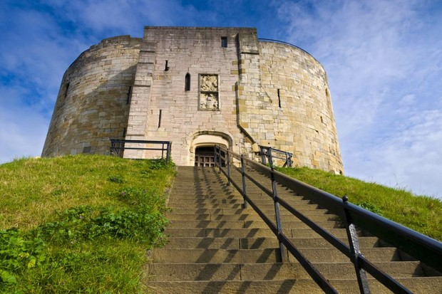 Photo of Clifford Tower in York