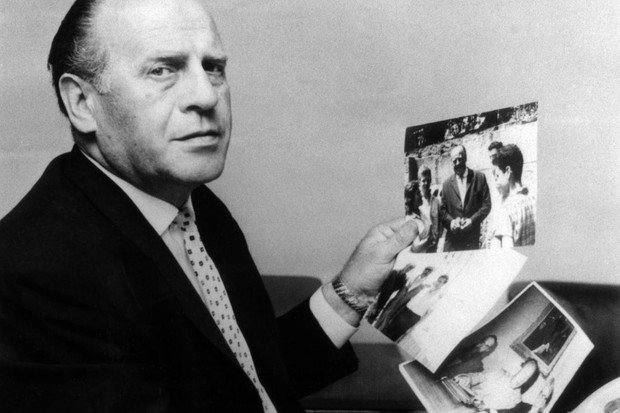 Oskar Schindler, who prevented hundreds of Jews from being murdered in the Holocaust