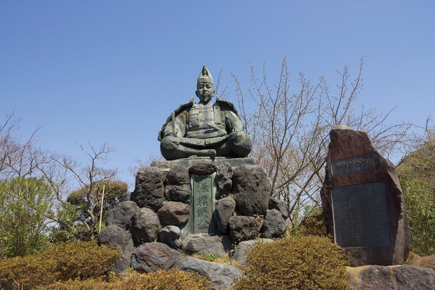 Yoritomo's statue stands in Kamakura, the region in which the shogunate he established would rule for 150 years. (Image by Alamy)