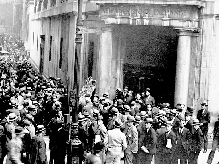 The Wall Street Crash: the day the bubble burst