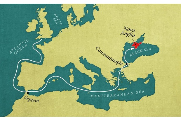 A map of Anglo-Saxon travels