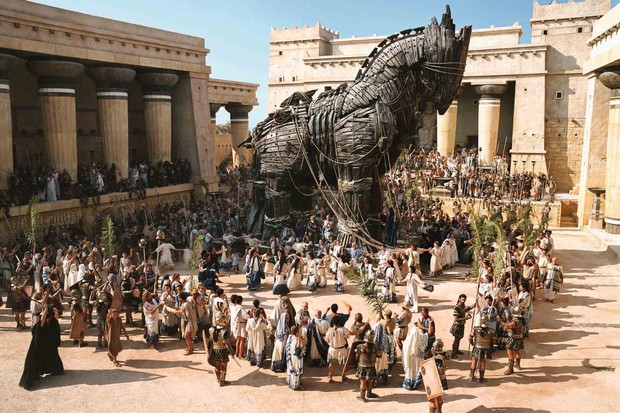 The Trojan Horse – seen in the 2004 film Troy