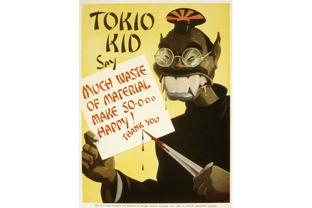 Much US wartime propaganda was based on racial stereotypes and invoked decades of prior anti-Japanese and anti-Asian sentiment. (Image by Alamy)