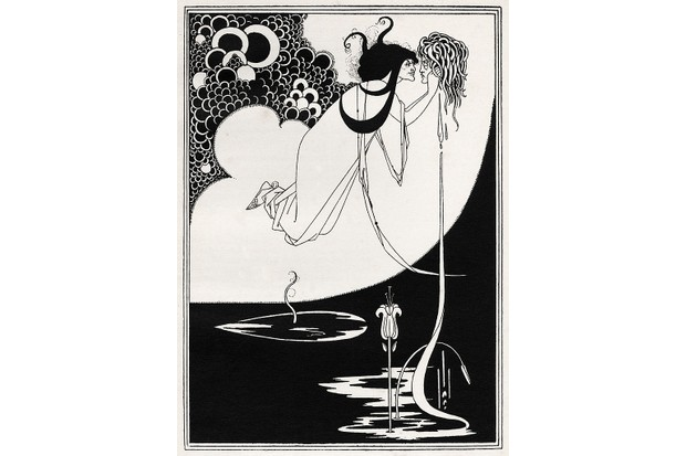 ' The Climax ' - Aubrey Beardsley 's illustration for ' Salome ' by Oscar Wilde first performed in England on 10 May 1905. Richard Strauss 's opera based on this play premiered 9 December 1905 Dresden. (Photo by Culture Club/Getty Images)