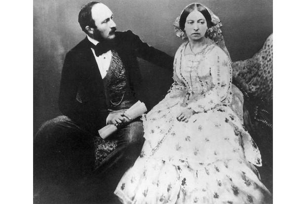 Queen Victoria and her husband, Prince Albert