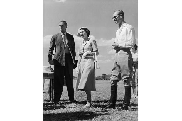 Princess Elizabeth and the Duke of Edinburgh in Kenya