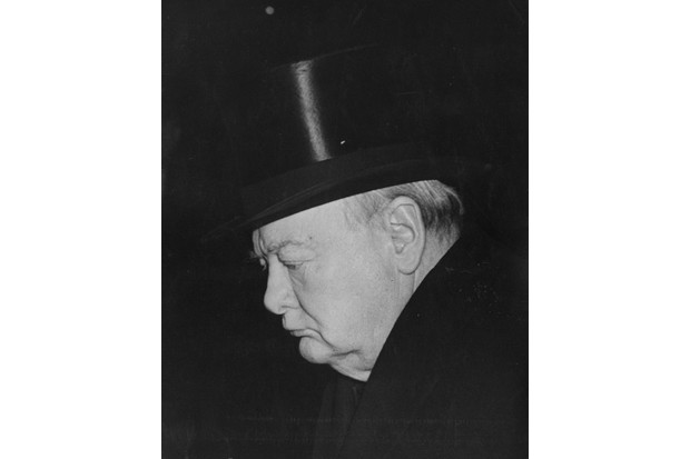 Winston Churchill in 1952
