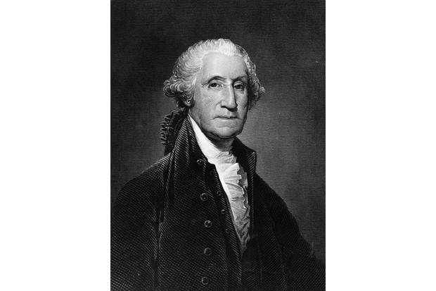 US president George Washington