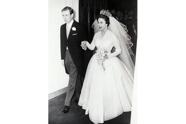 The marriage of Princess Margaret to Antony Armstrong-Jones