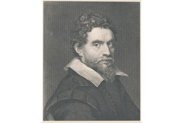 Portrait of Ben Jonson, English poet and playwright