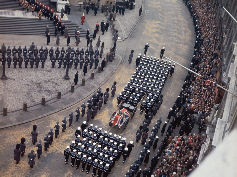The death of Sir Winston Churchill and the top-secret plans for his funeral
