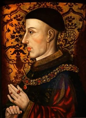 A portrait of King Henry V of England.