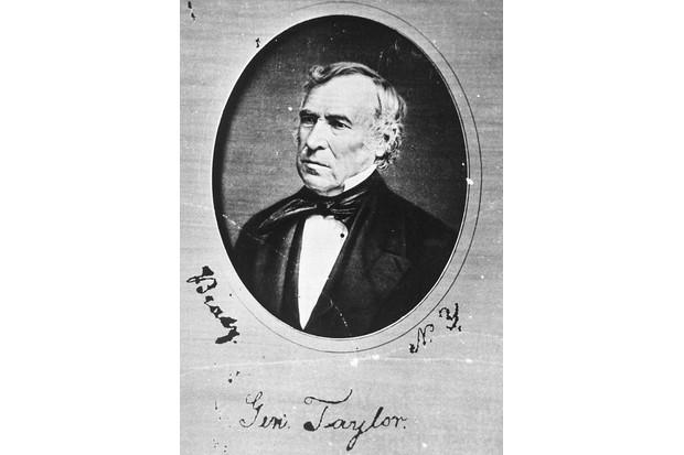 US president Zachary Taylor