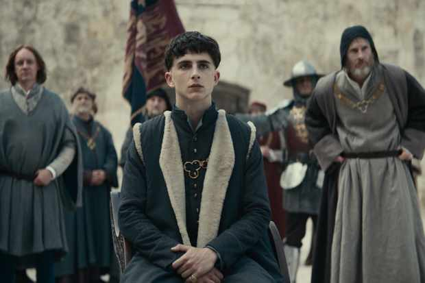 Timothée Chalamet as Prince Hal