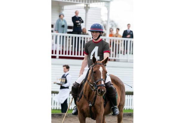 Josh O'Connor as Prince Charles in polo attire