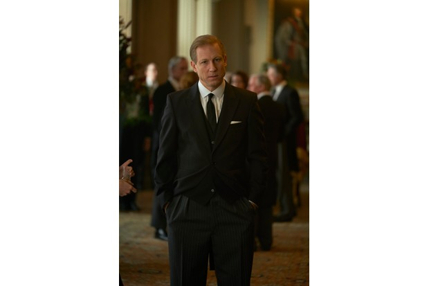 Tobias Menzies plays Prince Philip in the third series of The Crown.
