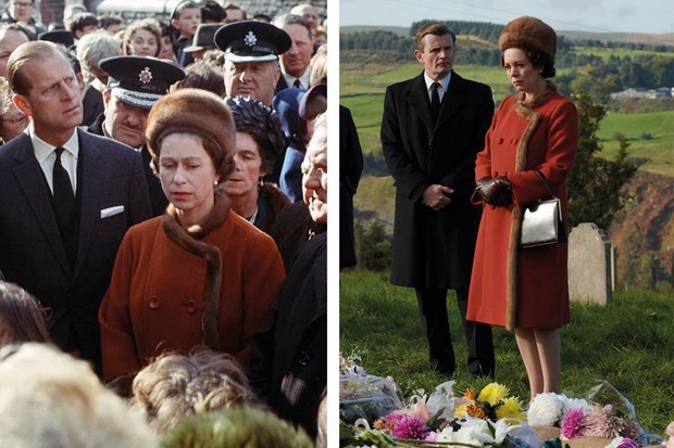 The queen's visit to the Welsh village of Aberfan