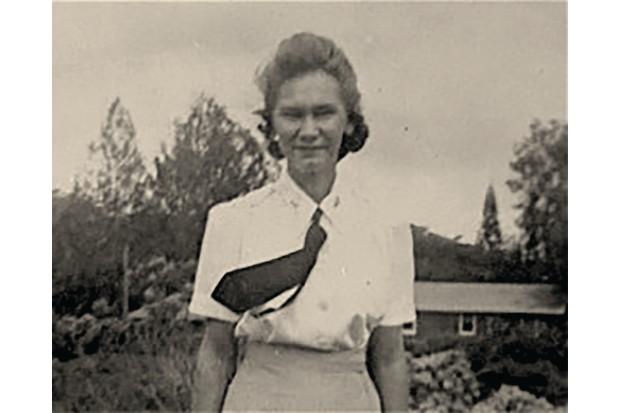 Lieutenant Myrtle Watson from Maryland