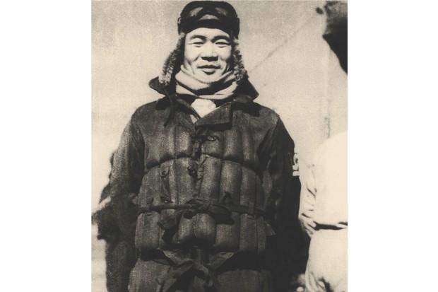 Japanese fighter pilot Iyozo Fujita