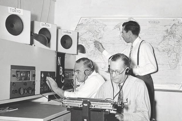 Mixed signals: A shortwave radio listening post in California, set up to report and translate broadcasts from Asia. (Photo by AP/Shutterstock)