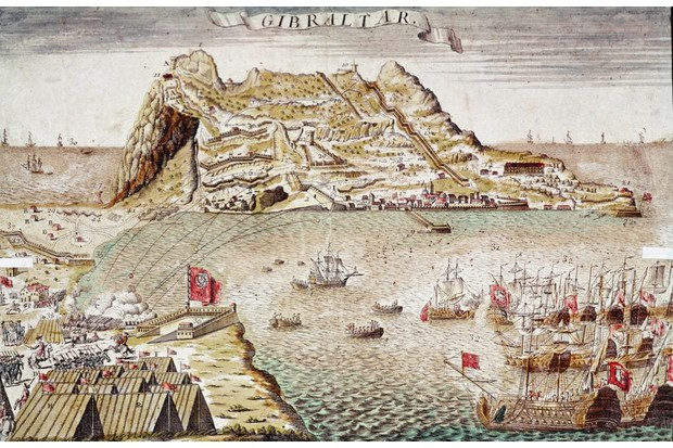 Spanish forces attack Gibraltar