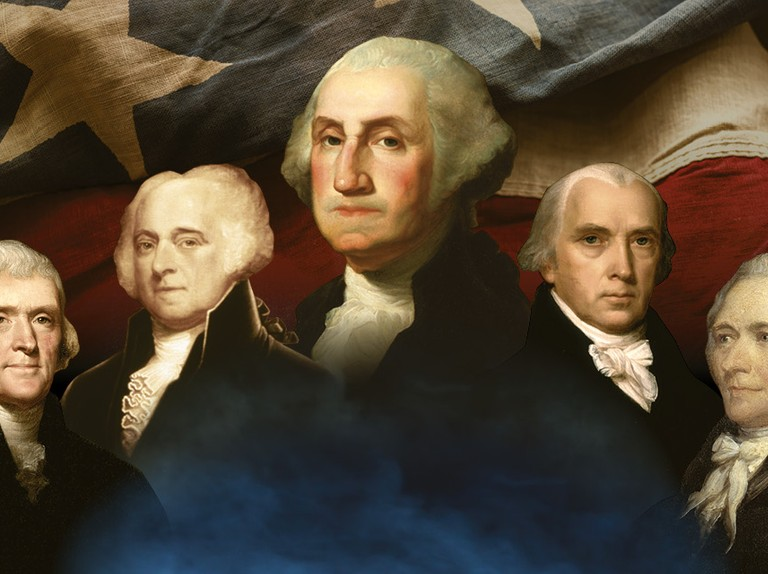 Founding fathers: the men who made America