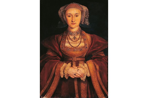 Portrait of Anne of Cleves, by Hans Holbein the Younger. (Photo by DeAgostini/Getty Images); Paris, Musée Du Louvre.